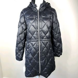 Michael Kors Packable Down Quilted Puffer Coat